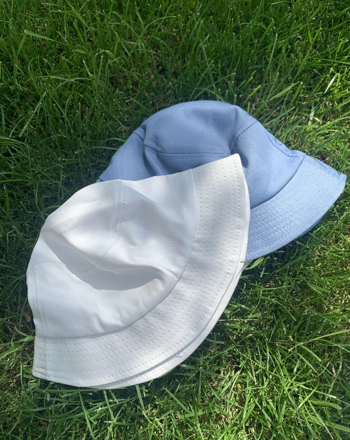 Classic White Bucket Hat - SISTER LB