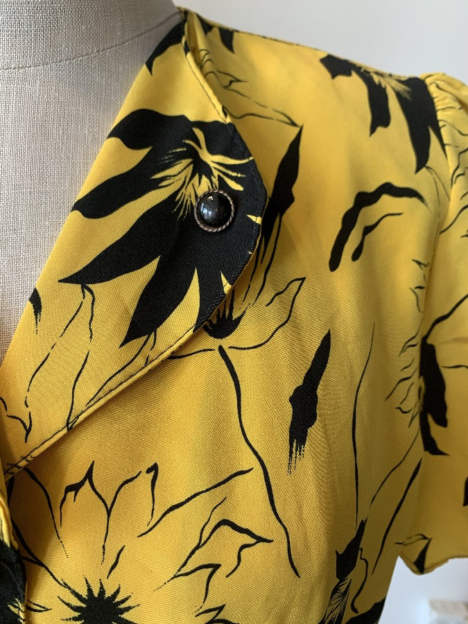 Yellow Floral Dress - SISTER LB