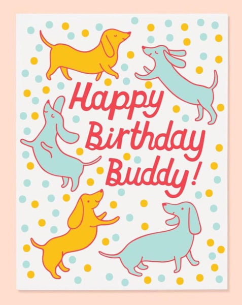 Happy Birthday Buddy Card - SISTER LB