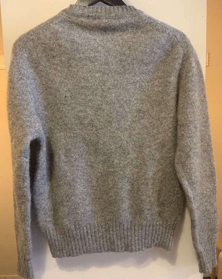 Vintage Grey Pullover Sweater
