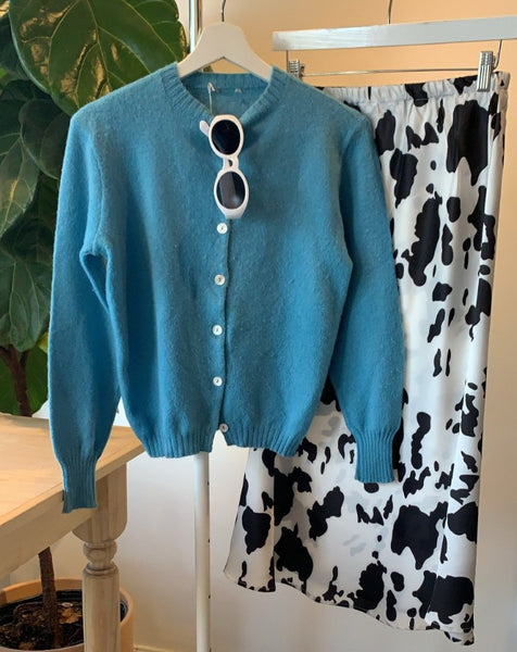 Blue Betty Cardigan - SISTER LB