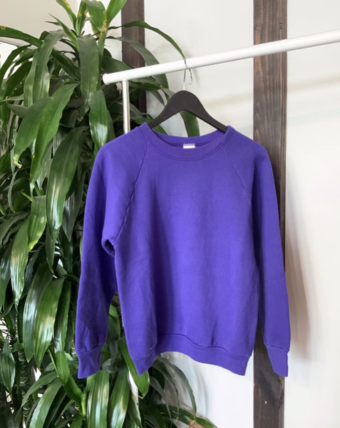 vintage purple crewneck sweatshirt