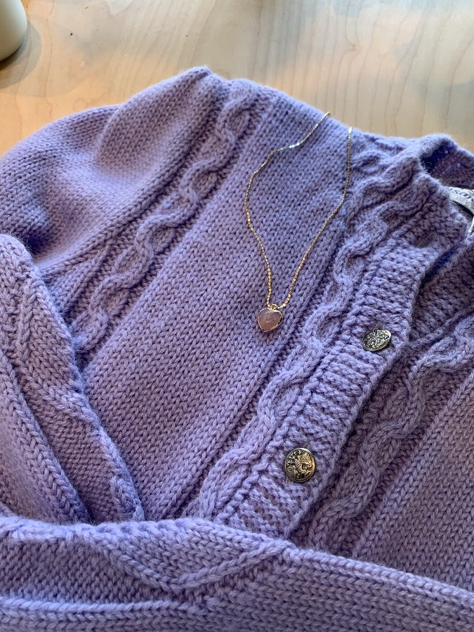 Cable Knit Cardigan - SISTER LB