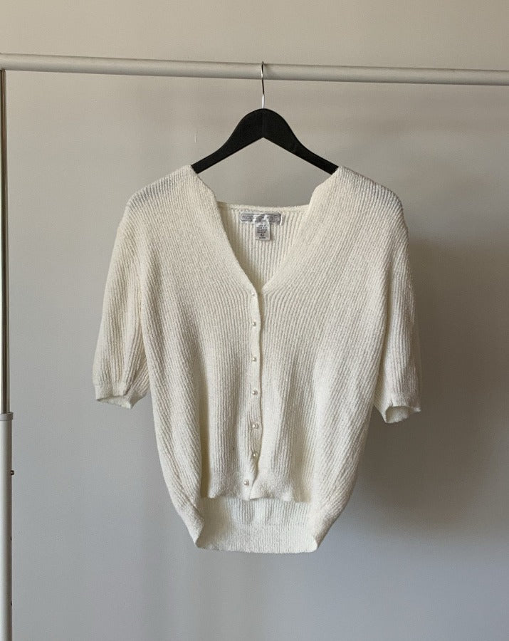 Vintage Knit Cardigan Top