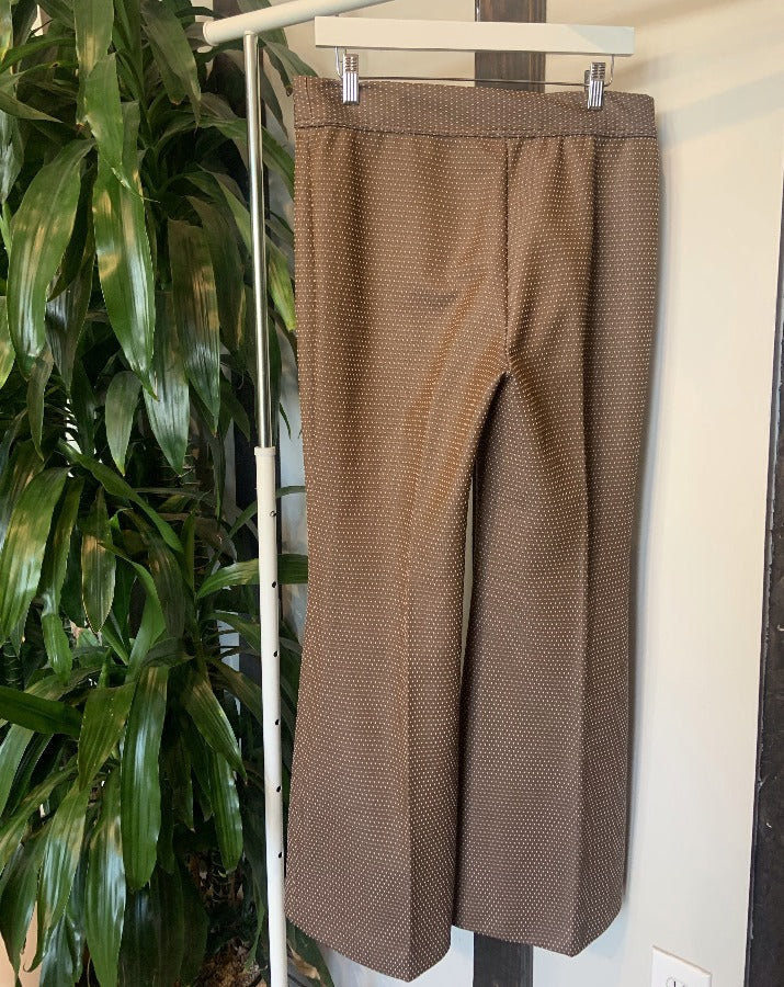 Vintage Brown Dot Pants