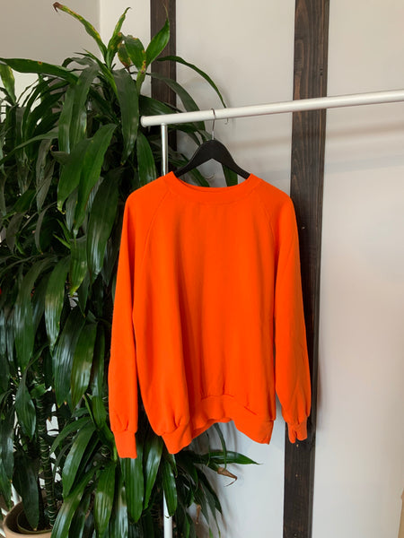 Classic Vintage Orange Sweatshirt