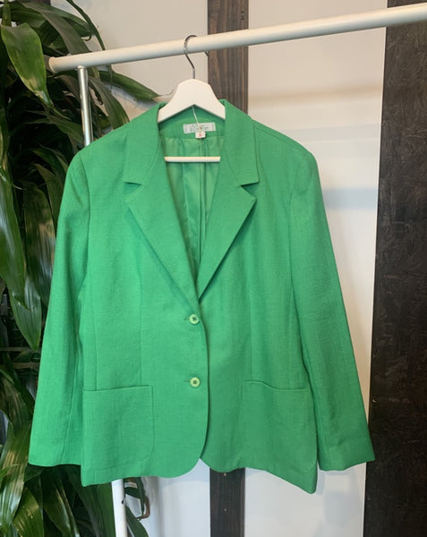 Kelly Green Vintage Blazer
