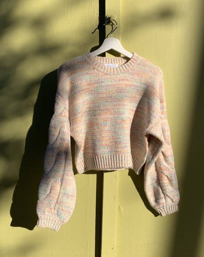Kody Speckle Crop Sweater