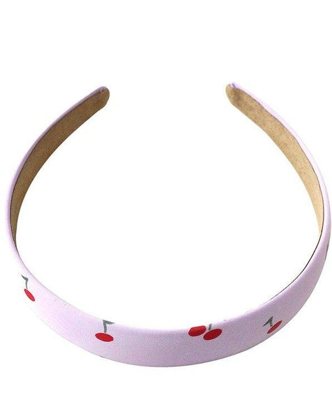 Lavender Cherry Headband