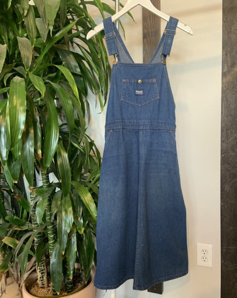 Secondhand Madewell Overall Dress