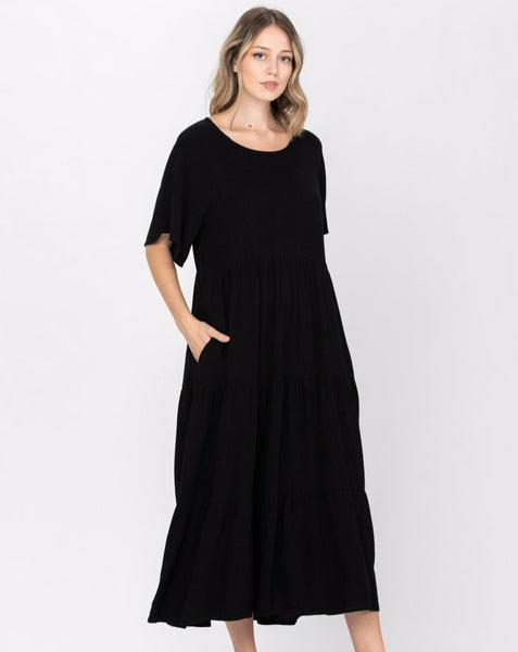 Maggie Linen Dress