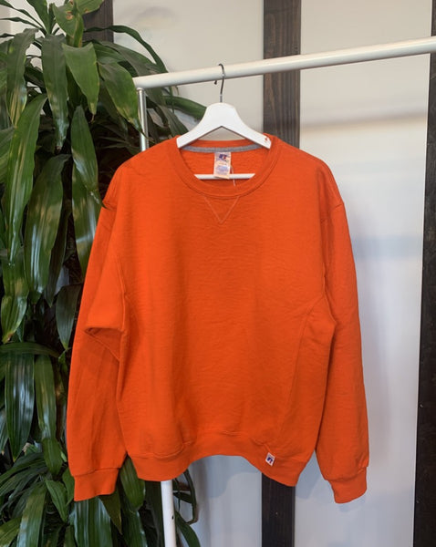 Vintage Russell Orange Sweatshirt