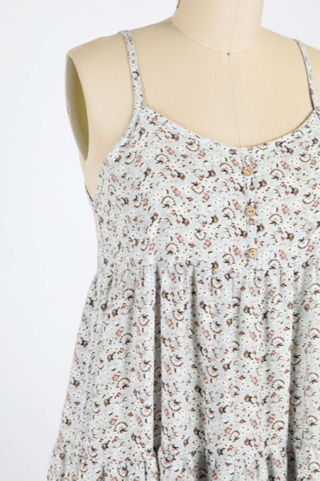 Sawyer Floral Babydoll Dress