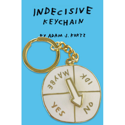 Indecisive Keychain