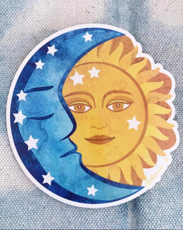 Sun & Moon Sticker