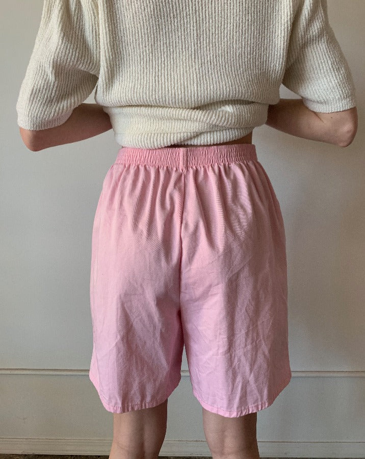 Baby Pink Vintage Shorts