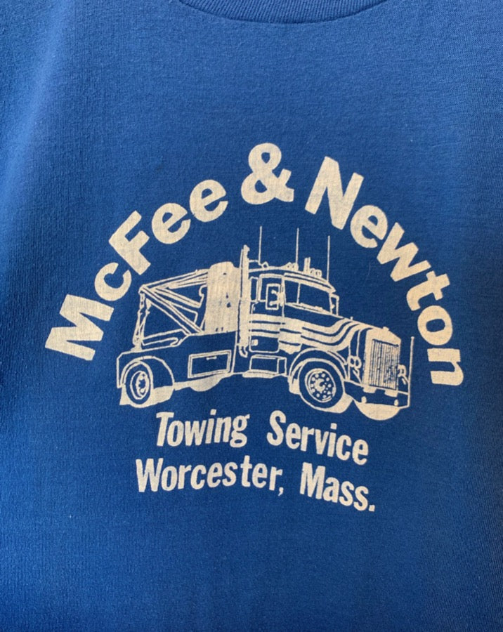 Vintage Blue Towing Tee