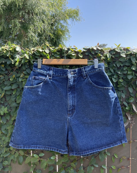 Vintage Clean Hem Lee Denim Short