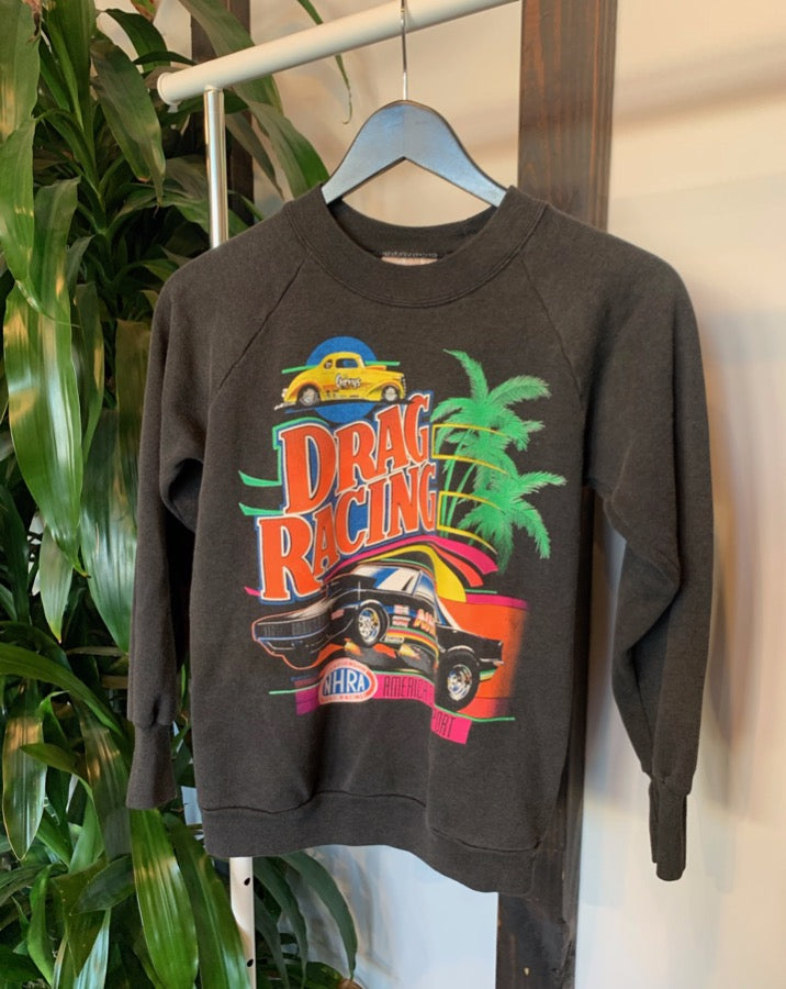 Vintage Drag Racing Sweatshirt