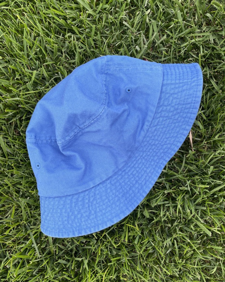Washed Cobalt Bucket Hat