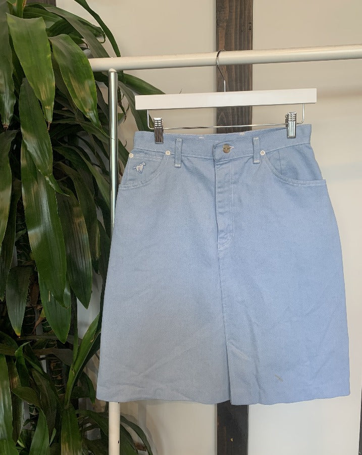 Vintage Wrangler Denim Skirt