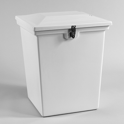 35 Gallon - Marine Fiberglass Trash Can