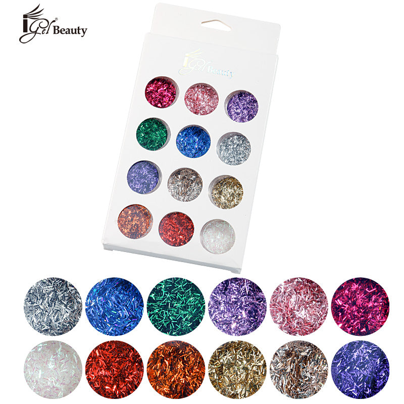 Nail Art Assorted Designs (12 pcs) - 027