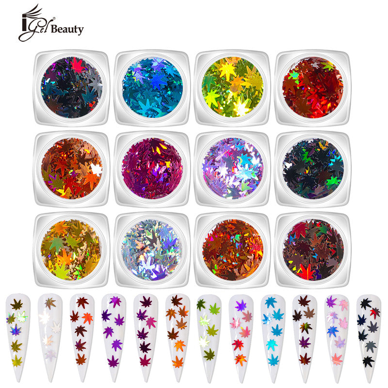 Nail Art Assorted Designs (12 pcs) - 034
