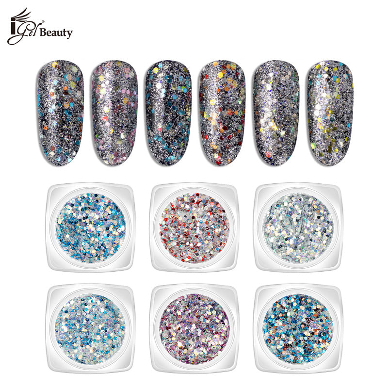 Nail Art Assorted Designs (6 pcs) - 007