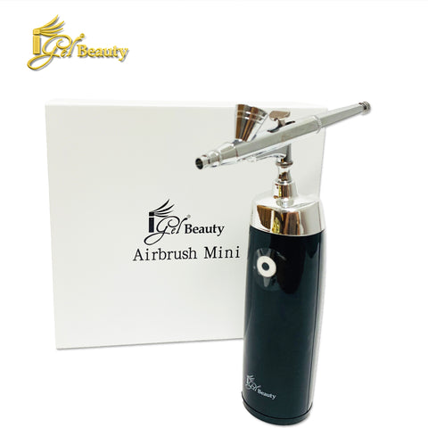 Cordless Rechargeable Airbrush Mini - BLACK/SILVER