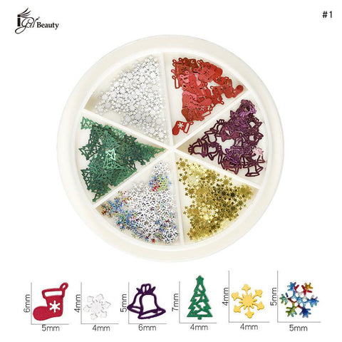 Nail Art Charms - Christmas 01