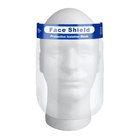 $30 After 60% OFF - Clear Plastic Face Shield - 10pcs