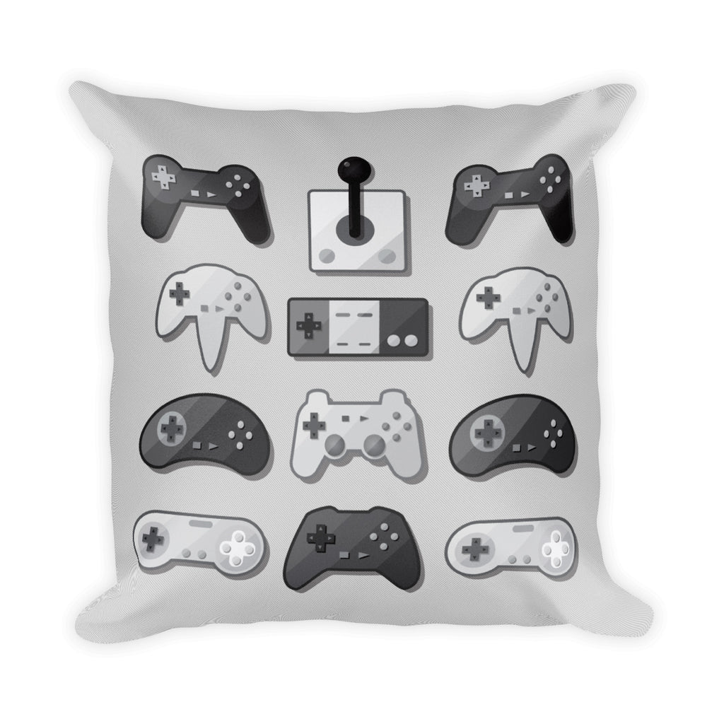 "GAME PAD PILLOW 18""x18"", Gaming Gift"