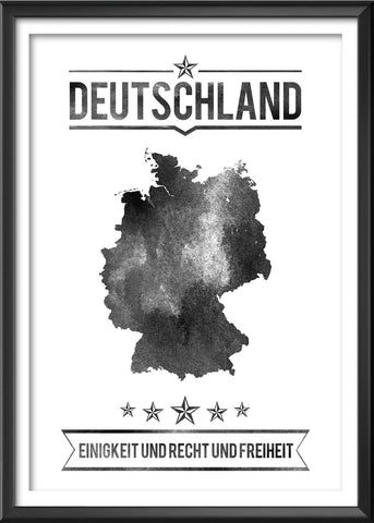Germany Typography Print