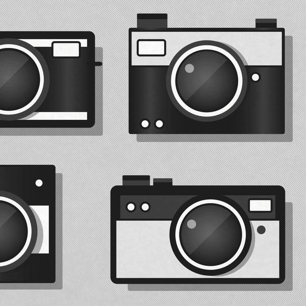 RETRO CAMERA PRINT, Camera Wall Art, Camera Poster, Camera Art, Camera Print, Camera Illustration, Vintage, Camera Decor, Retro, Hipster,Art