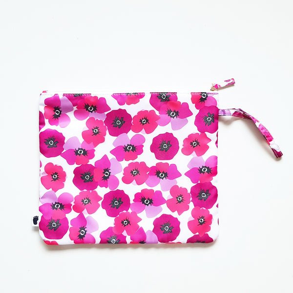 NAPPY CLUTCH POPPY