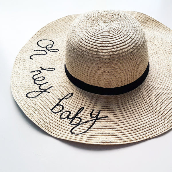 'Oh Hey Baby' Hat Womens