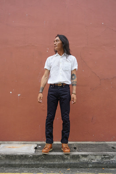 LOT 66X - Indigo Black denim