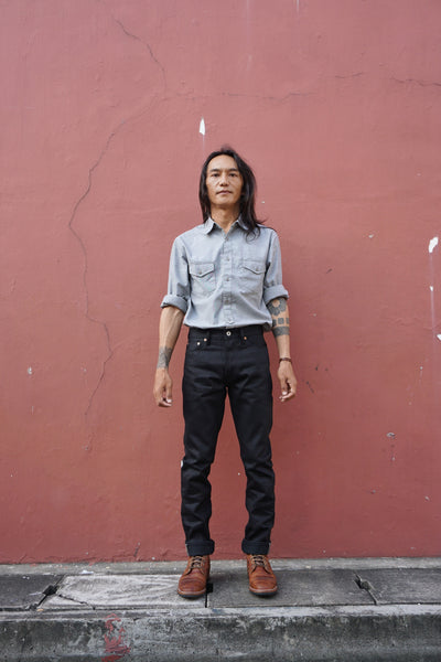 LOT 66X - Double Black denim