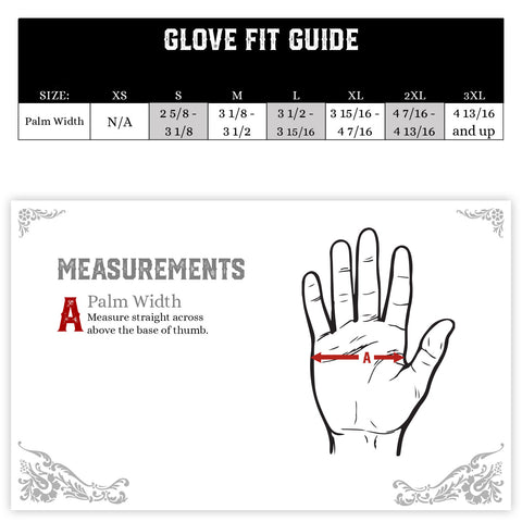 mechanic touch screen gloves guide