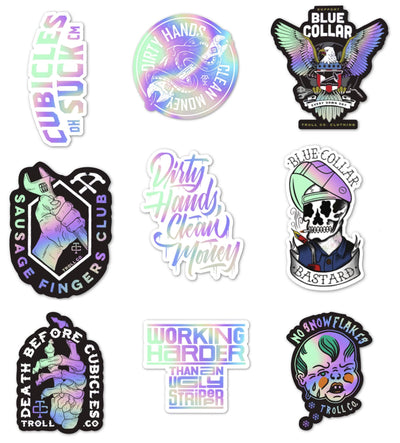 Holo Sticker Pack (Jumbo)