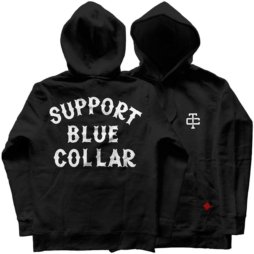 Support Blue Collar Hoodie
