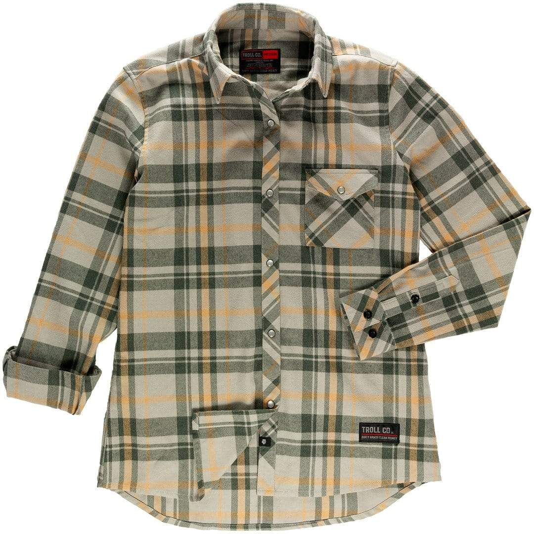 Women's Henley Flannel
