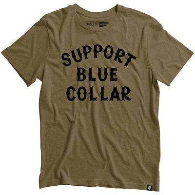 Support Blue Collar Tee