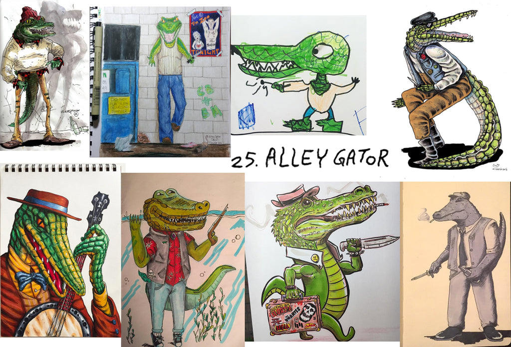 Bad Guys Alley Gator