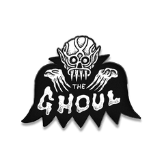 BAT GHOUL ENAMEL PIN, Other, The Ghoul, Justin Ishmael - Justin Ishmael