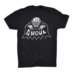 BAT GHOUL T-SHIRT - Black, Apparel, The Ghoul, Justin Ishmael - Justin Ishmael