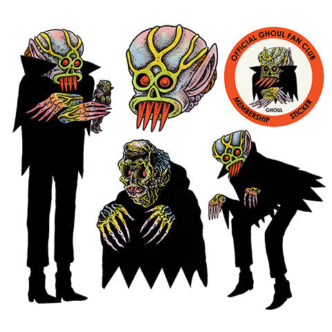 The ghoul sticker set
