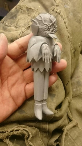 THE GHOUL VINYL FIGURE (COMING SOON), Toy, The Ghoul, Justin Ishmael - Justin Ishmael