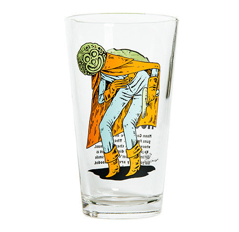 MOON GOON PINT GLASS